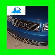 2002-2005 AUDI A4 A6 A8 CHROME TRIM FOR UPPER GRILL GRILLE 5YR WRNTY B6 C5 D3