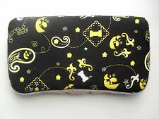 Black and Gold Iowa Hawkeyes Baby Wipes Case