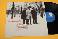 ORNETTE COLEMAN LP AT THE GOLDEN CIRCLE TOP FREE JAZZ NM ! ITALY BLUE NOTE