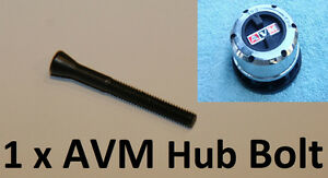 1 x AVM or ROK tapered Bolt Cap Screw for Free Wheel Manual Locking 4WD Hubs