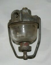 Vintage Tillotson Carburetor Fuel Filter w/ Glass Sediment Bowl