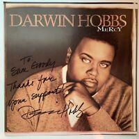 """Darwin Hobbs - Mercy gospel album flat PROMO poster 12x12"""" 1999"""
