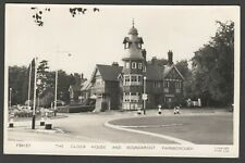 Postcard Farnborough Hampshire the Clock House and Roundabout RP