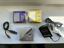 More details for sony mz-n710 minidisc player