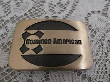 Cominco American Solid Brass Vintage Belt Buckle