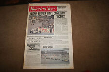 Motoring News 11 June 1970 Bruce McLaren Belgian GP Anderstrop Sports Stag