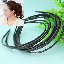 10Pcs/Set Haarreifen Haarband Haar Reifen Reif Haarschmuck Plastik  NEU