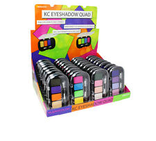 Kleancolor Eyeshadow Quad-Shimmer-ES2374-Include 4 sets- 4 different colors each