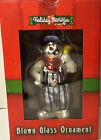 Lionel Christmas Ornament 'Blown Glass Snowman w/ Bell' Item #922023