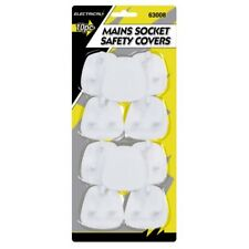 ELECTRICAL PLUG PROTECTOR SOCKET SAFETY COVERS CHILD BABY MAINS SOCKET COVE 10pk