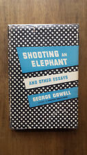 George Orwell – Shooting an Elephant (1st/1st US 1950 hb w dw) 1984 Animal Farm