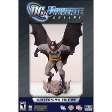 DC Universe Online - Collector's Edition [PC-DVD Computer, Limited, MMORPG] NEW