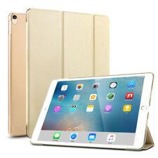 Ipad Pro 9.7 Hülle Smart Case ultra slim Schutztasche aus PU Leder Gold DE Stock
