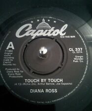 "Diana Ross ‎– Touch By Touch Vinyl 7"" Single UK CL337 1984"