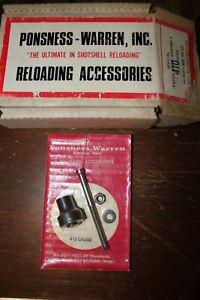 Ponsness-Warren Reloading Access Special Paper Crimp Assembly 410 Gauge