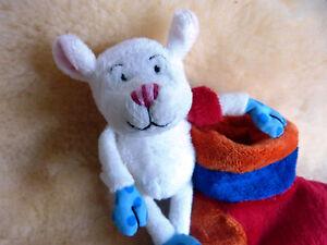 15cm NEU Maus für unterwegs Baby Stofftier Plüschtier Kuscheltier lustig