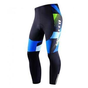 SPONEED Size XL Mens Cycling Padded Bike Tights Pants Stretchy MTB Road Cycle
