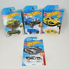 Lot of 4 2020 Hot Wheels Cars 1:64 Scale, 2 Ford, Toyota, Dodge Ram New in Box