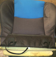 *NEW* Mini Cooper S Feeb Laser Blue Front Sport Seat Upholstery And Cover