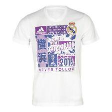 Camisetas de fútbol de clubes españoles para hombres blanco