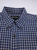 Eddie Bauer Medium Long Sleeve Plaid Flannel Button Down Outdoor Fishing Shirt