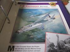 Fliegen 7: Karte 65 Vought F 8 Crusader Vietnam