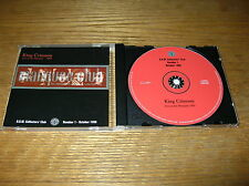 KING CRIMSON COLLECTORS' CLUB #1 -LIVE AT THE MARQUEE 1969 ROBERT FRIPP DGM ROCK