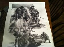 #12-61 zodiac poster dick cramer armed forces