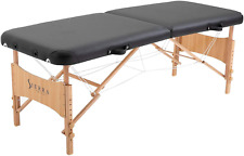 SierraComfort Basic Portable Massage Table, Black Excellent Gift