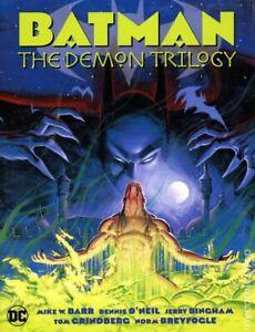 Batman The Demon Trilogy HC #1-1ST NM 2020 Stock Image