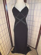 BLACK Prom Pageant Dress Cecily Brown size XS GORGEOUS!!