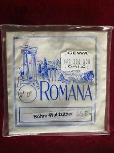 Waldzither Saitensatz 9-saitig Marke Ramona Made in Germany