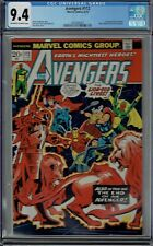 CGC 9.4 AVENGERS #112 MANTIS 1ST APPEARANCE 1973 OW/W PAGES