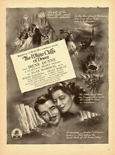 1944 WW2 classic movie AD, White Cliffs of Dover, Irene Dunn, Oscar MGM 070514