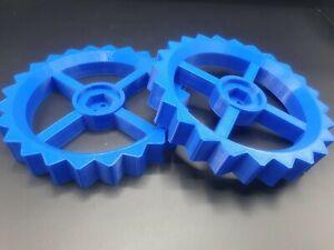 2er set Antriebsräder(Blau) für Gardena R38Li, R40Li, R50Li, R70Li, R80Li
