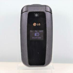 Wholesale LG 440G (Tracfone) Flip Camera Phone - Black - Prepaidd - Fast Ship!