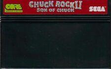 - Chuck Rock II-son of Chuck-solo módulo-Sega Master System PAL