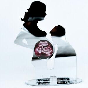 Porta ecografia Donna incinta cornice per foto Mamma in gravidanza plexiglass