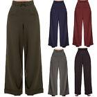 femmes les années 1940 style rétro vintage SWING Pantalon jambe large