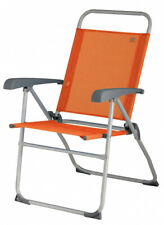 Campingstuhl Venedig 99 x 62 cm Aluminium orange