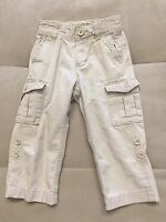Baby Boy Gap Cargo Pants Shorts 2T Beige