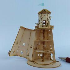 NEU Leuchtturm  Bastelset 1/144  aufklappbar  Wendeltreppe 33 Stufen Einführung