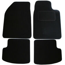For Toyota Yaris MK1 1999-2005 3 Door Fully Tailored 4 Piece Black Car Mat Set