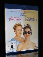 BLU-RAY PLÖTZLICH PRINZESSIN COLLECTION 1 + 2 - JULIE ANDREWS + ANNE HATHAWAY *