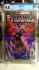 THANOS #15 CGC 9.8 4th Print 1st Cover App Silver Surfer Black Fallen One Cates