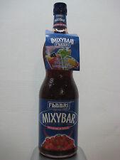"Fabbri ""Mixybar"" Wild Strawberry Flavoring Syrup and Granita Syrup - 6 Bottles"