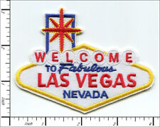 20 Pcs Embroidered Iron on patches Welcome to Fabulous Las Vegas AP025LV1