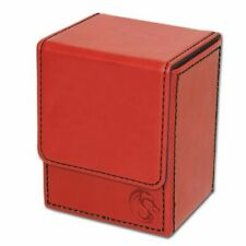 1 BCW Deck Case LX RED MTG CCG Pokemon Protector Storage Box