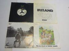 """10x THE BEATLES-Solo 7""""  Vinyl:mint(-) Cover:mint-/ex TOP Sweet Lord Cold Turkey"""