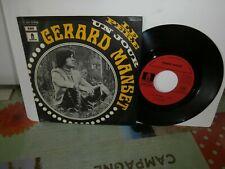 "Gerard Manset""Le père""single7""or.fr.odeon:2c00610106 de 1969.biem rare"